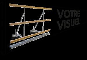 Palissade modulable - Pose auto-portante - Exclusivité EasyPanneau