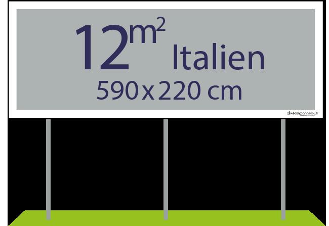 Panneaux pulicitaires 12m² italien - Easypanneau