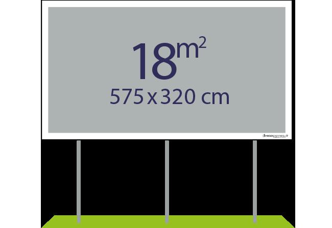 Panneaux pulicitaires 18m² - Easypanneau