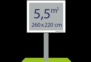Panneaux pulicitaires 5,5m² - Easypanneau