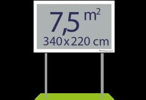 Panneaux pulicitaires 7,5m² - Easypanneau