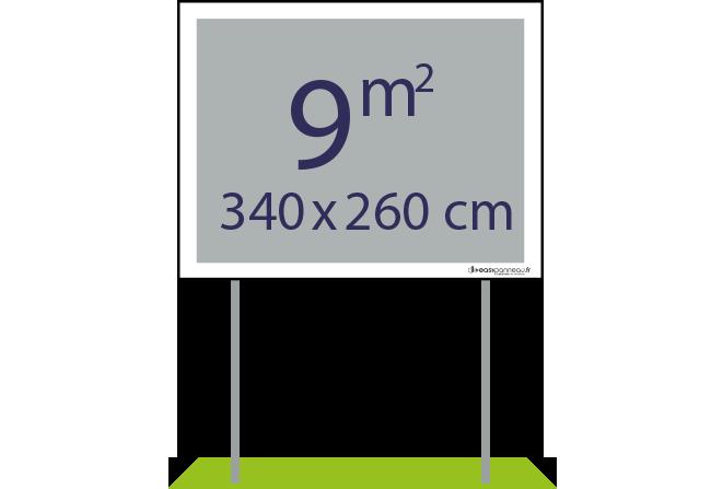 Panneaux pulicitaires 9m² - Easypanneau