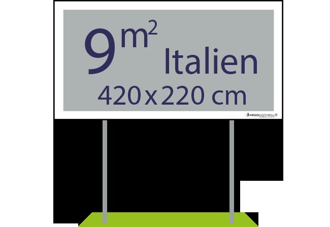 Panneaux pulicitaires 9m² italien - Easypanneau