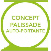 concept palissade auto-portante - EasyPanneau