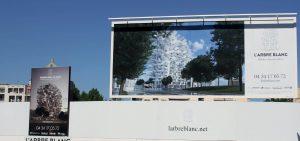 Panneau publicitaire immobilier montpellier