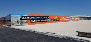 Palissade Montpellier la Mogère