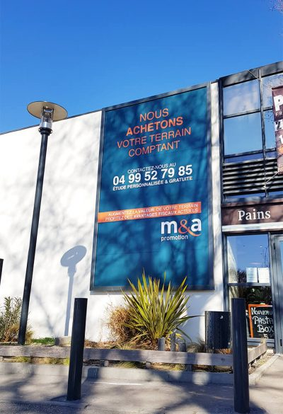 m&a promotion panneaux